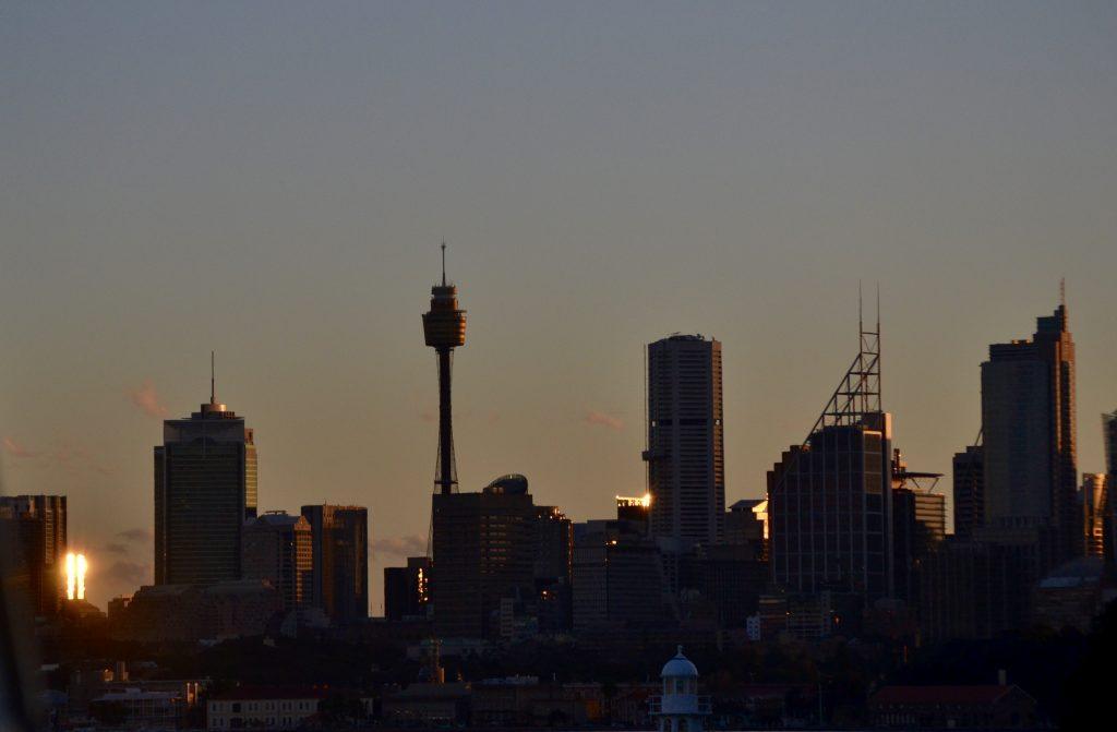 Sunset Sydney