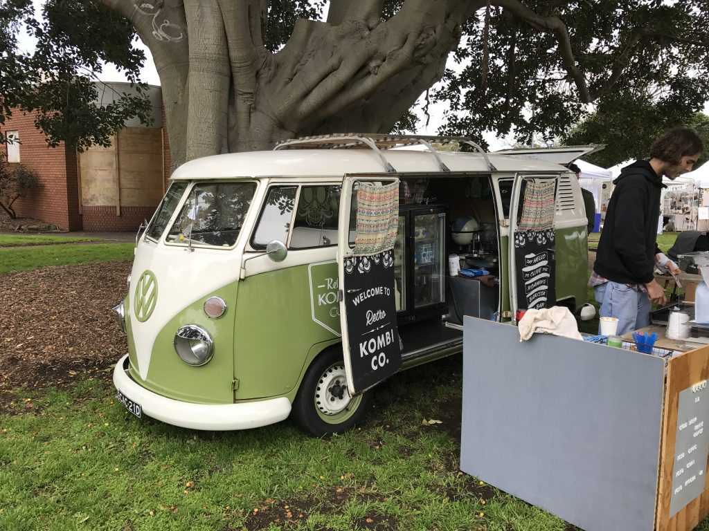 Olive the Coffee Van